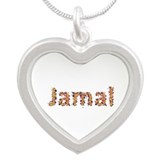 Jamal Fiesta Silver Heart Necklace