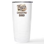 Lhasa-Poo Dog Dad Ceramic Travel Mug