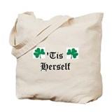 tis herself Tote Bag
