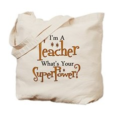 Cute Teacher Tote Bag
