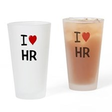 Funny Human resources Drinking Glass