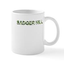Badger Hill, Vintage Camo, Mug