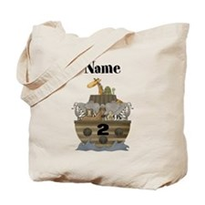 Personalized Noahs Ark 2 Tote Bag
