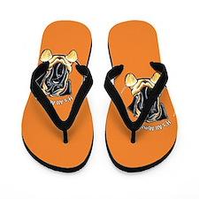 English Mastiff IAAM Flip Flops
