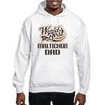 Maltichon Dog Dad Hooded Sweatshirt