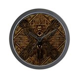 Pazuzu Wall Clock