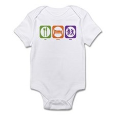 Eat Sleep Hike Infant Bodysuit