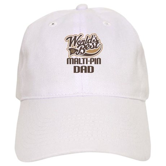 Malti-Pin Dog Dad Cap