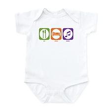 Eat Sleep Music Infant Bodysuit