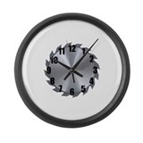 Funny  man Large Wall Clock