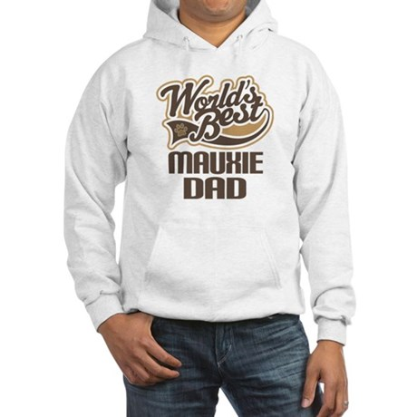 Mauxie Dog Dad Hooded Sweatshirt