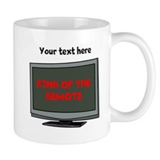 Personalized King of the Remote Items Mug