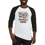 Meagle Dog Dad Baseball Jersey