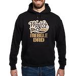 Meagle Dog Dad Hoodie (dark)