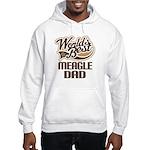 Meagle Dog Dad Hooded Sweatshirt