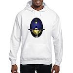 Spanish Rapier: Blue Hooded Sweatshirt