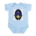 Spanish Rapier: Blue Infant Bodysuit