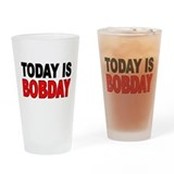 Funny Bob Drinking Glass