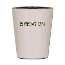 Brenton, Vintage Camo, Shot Glass
