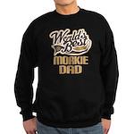 Morkie Dog Dad Sweatshirt (dark)
