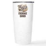 Morkie Dog Dad Ceramic Travel Mug