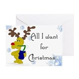 Christmas - Suck my balls Greeting Cards (Package