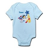 Personalized 1 Astronaut Infant Bodysuit