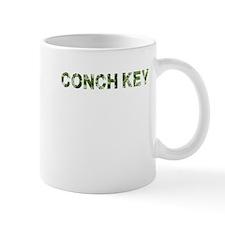 Conch Key, Vintage Camo, Mug
