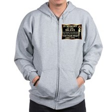 Cute Air force vietnam Zip Hoodie