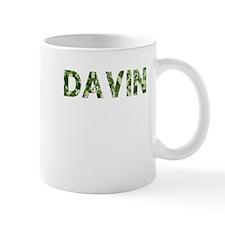 Davin, Vintage Camo, Mug