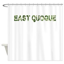 East Quogue, Vintage Camo, Shower Curtain