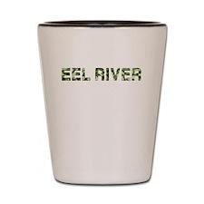 Eel River, Vintage Camo, Shot Glass