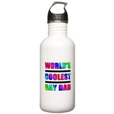 World's Coolest Gay Dad Water Bottle