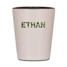 Ethan, Vintage Camo, Shot Glass