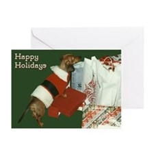 Dachshund Santa Greeting Cards (Pk of 20)