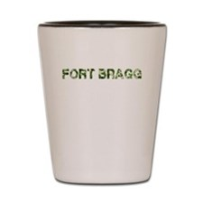 Fort Bragg, Vintage Camo, Shot Glass