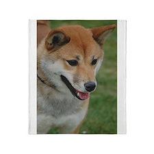 Shiba Inu Throw Blanket