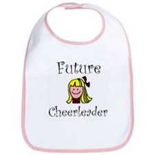 """Future Cheerleader"" Bib"