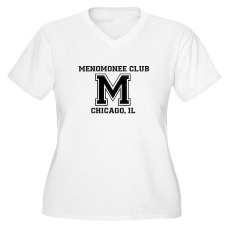 Alumni transparent Women's Plus Size V-Neck T-Shir