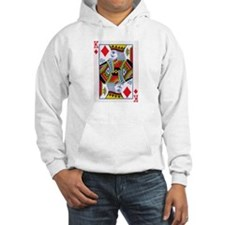 King of Diamonds Poker Hoodie