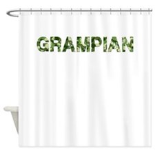 Grampian, Vintage Camo, Shower Curtain