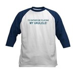 Play Ukulele Kids Baseball Jersey