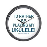 Play Ukulele Wall Clock