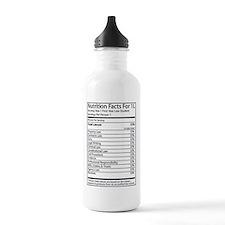 Unique Nutritional facts Water Bottle