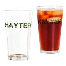 Hayter, Vintage Camo, Drinking Glass