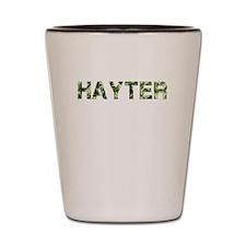 Hayter, Vintage Camo, Shot Glass