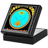 Funny Muscogee creek Keepsake Box