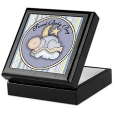 Moon and Stars Keepsake Keepsake Box