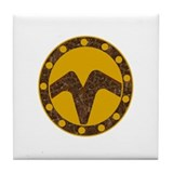 THE WATCHERS Tile Coaster