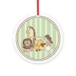 Baby Toys Keepsake Ornament (Round)